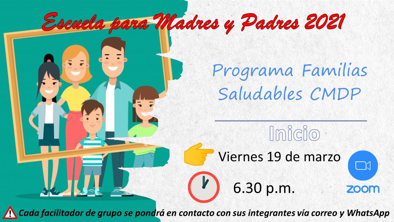 Inicio de Escuela de Padres